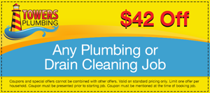 $42 Off any plumbing or drain cleaning