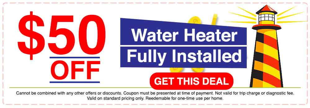 $50 OFF Water Softener Installation
